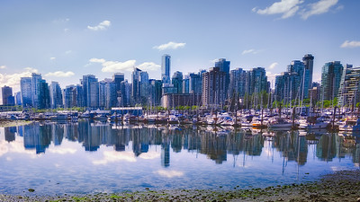 Waterfront skyline Vancouver