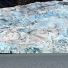 Glacier ice - note how blue.