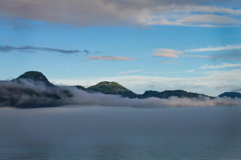 Misty Glacier Bay