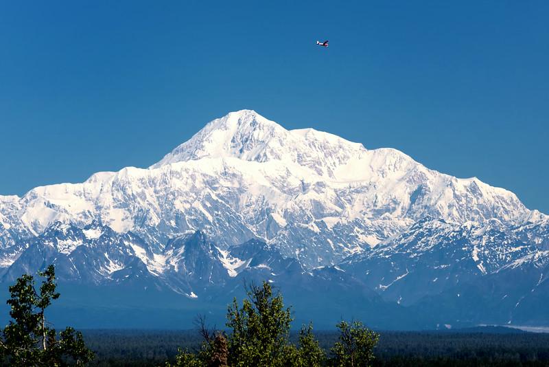 SW view of Denali.  Shot taken in Talkeetna