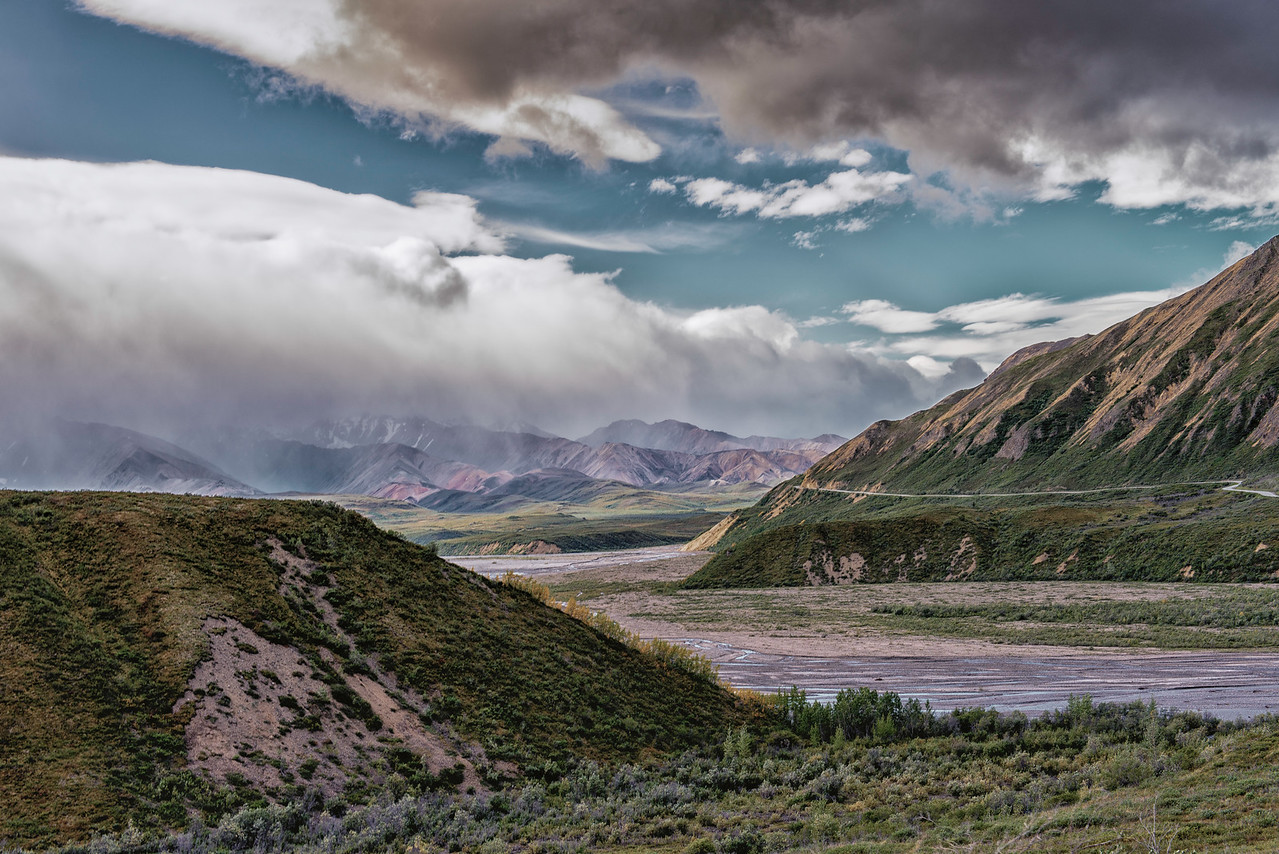 Road through Denali