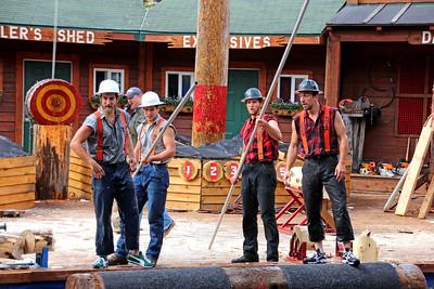 Ketchikan / Lumberjack Show