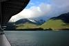 Cruising into Skagway