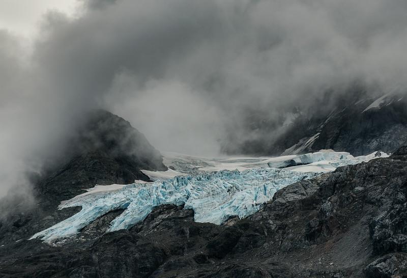 A baby glacier.