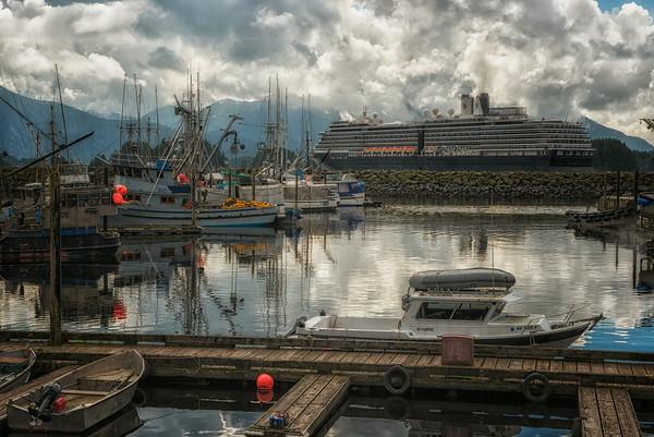 Sitka harbor.