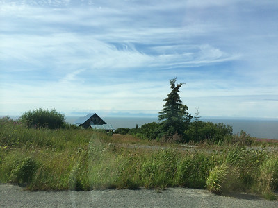 I think that might be Mount Olympus in the background. Just outside Homer, Alaska.