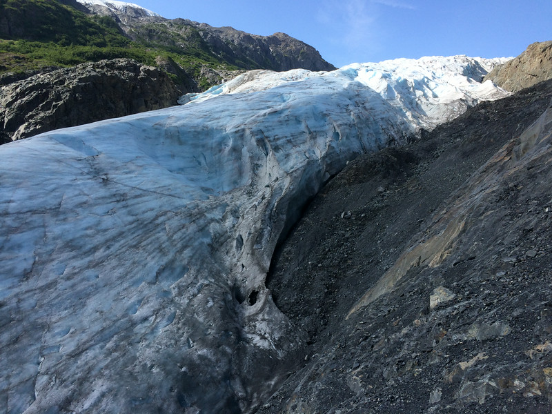 Kenai Fjords National Park: Exit Glacier up close.