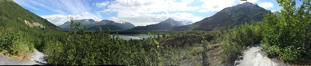 Exit Glacier outflow plain. 150 years ago, this was covered by 300 feet of ice!