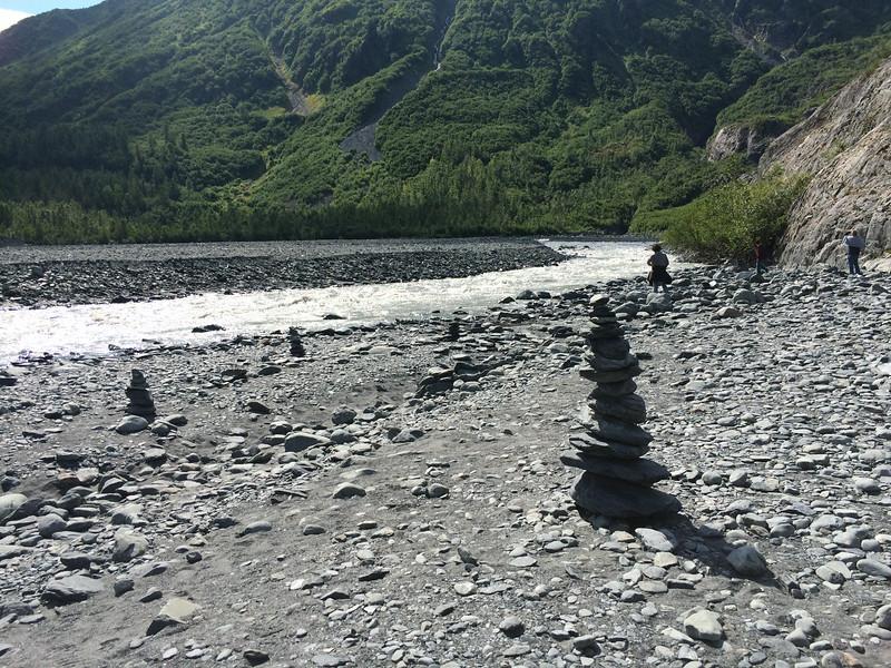 Exit Glacier outflow, Kenai Fjords National Park.