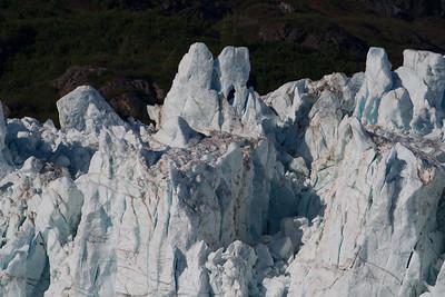 Upper detail of Margerie Glacier, Glacier Bay National Park