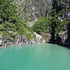 I just love what the glacial silt does to the color of the water.