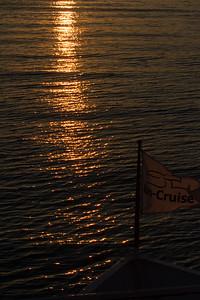 Un-Cruise at sunset