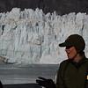 Ranger Nicole at Margerie Glacier.