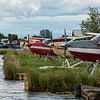 Lake Hood in Anchorage is the world's busiest seaplane base.  There were literally hundreds of planes everywhere!