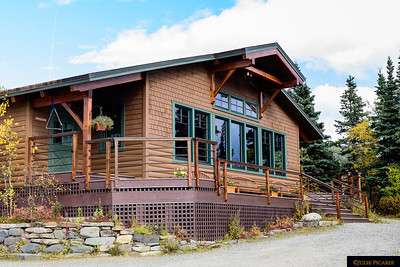 Potlatch Dining Hall - the newest structure of Camp Denali.