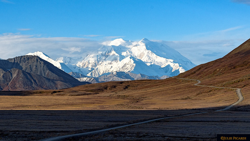 90 miles of remote road to Camp Denali.