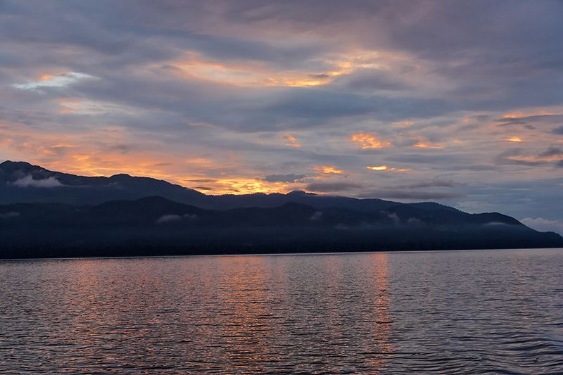 Dawn Over Icy Strait