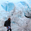 Kenai glacier, at spots that looks like broken heart and hand prints. I named it God's broken heart and hand impressions on the Kenai.