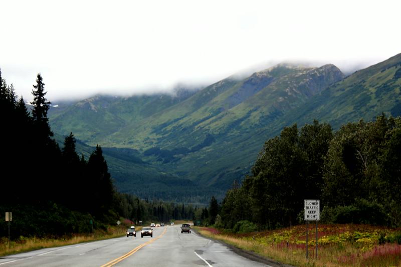 On the way to Seward