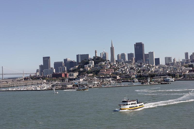 San Francisco Cityscape from Regal Princess