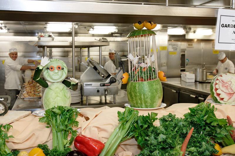 Regal Princess Kitchen Tour