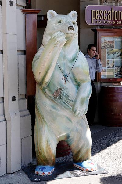 Street Bears At Victoria BC