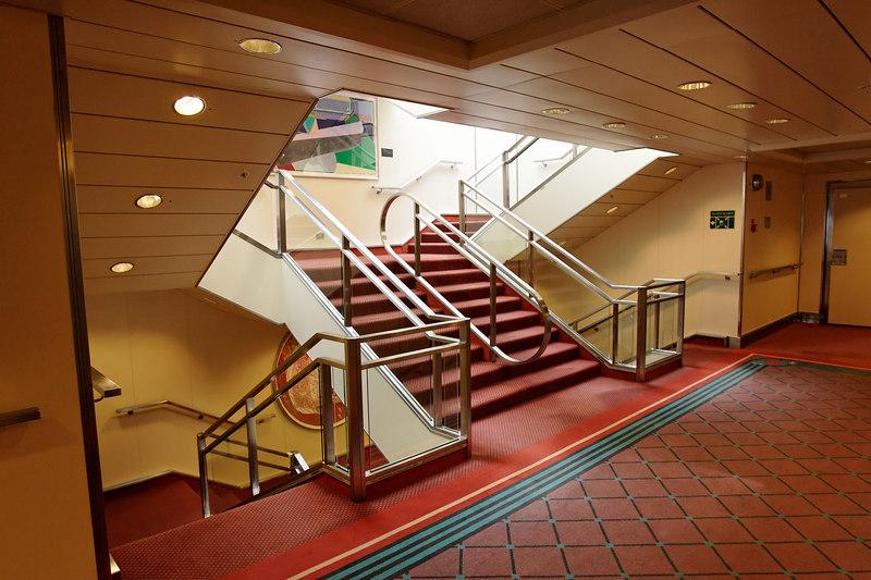 Regal Princess Midship Stairway