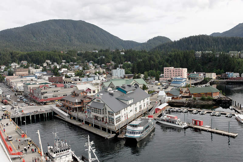 Arriving At Ketchikan