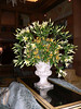 Flowers were everywhere in the Fairmont Olympic.