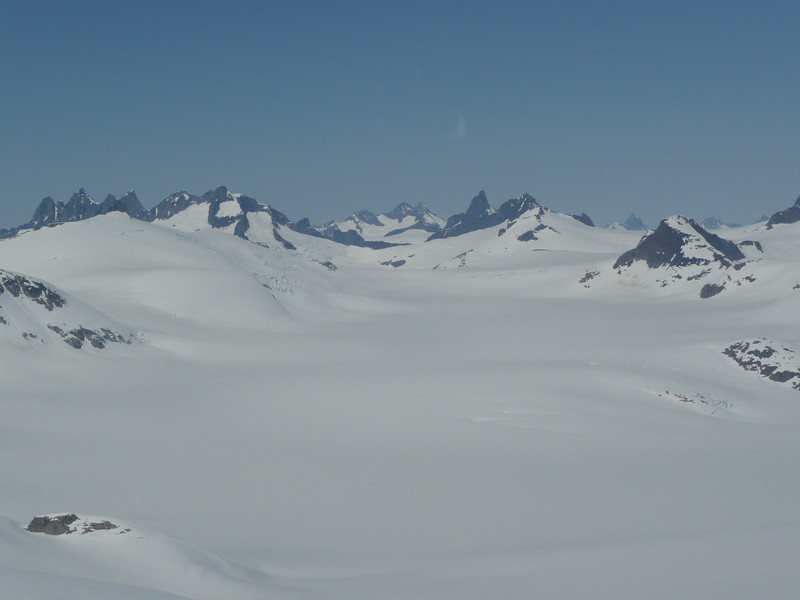 Death Valley, a part of the Juneau Icefield