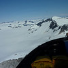 A view of the fifth largest icefield in the US, the Juneau Icefield
