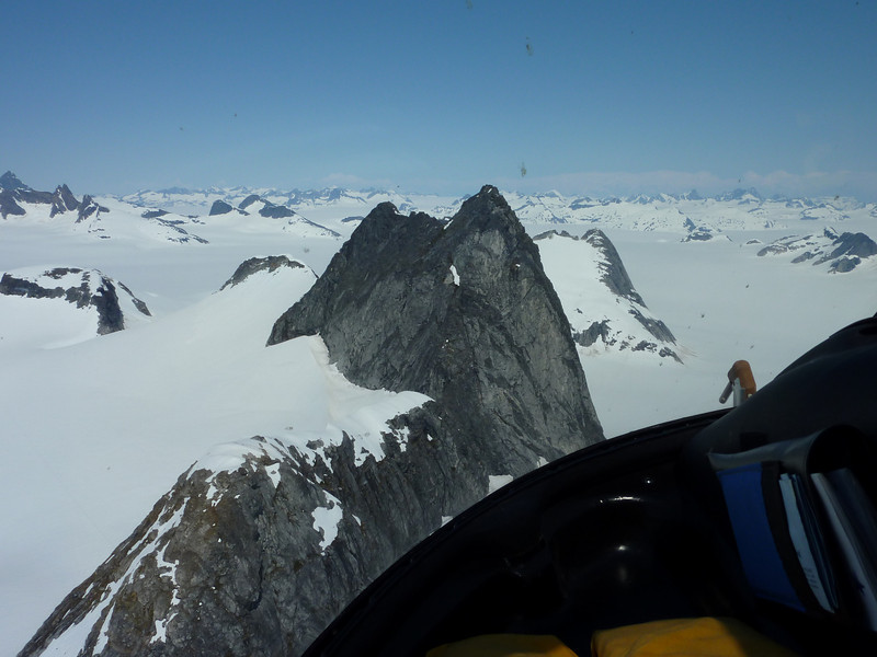 A peak close to Mendenhall Glacier