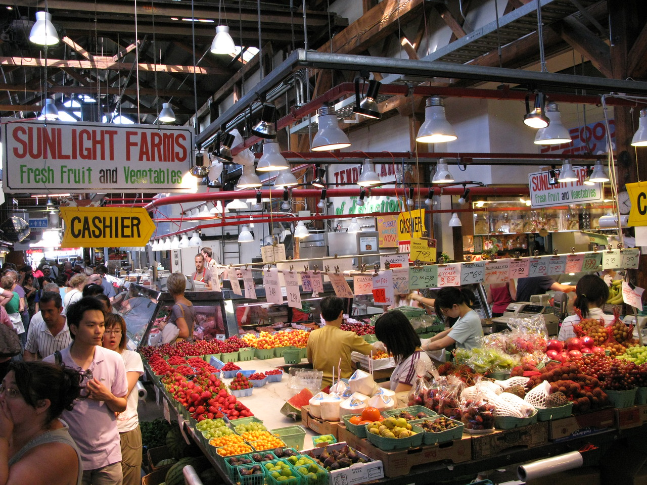 Spectacular!!!  The Public Market on Grandville Island...