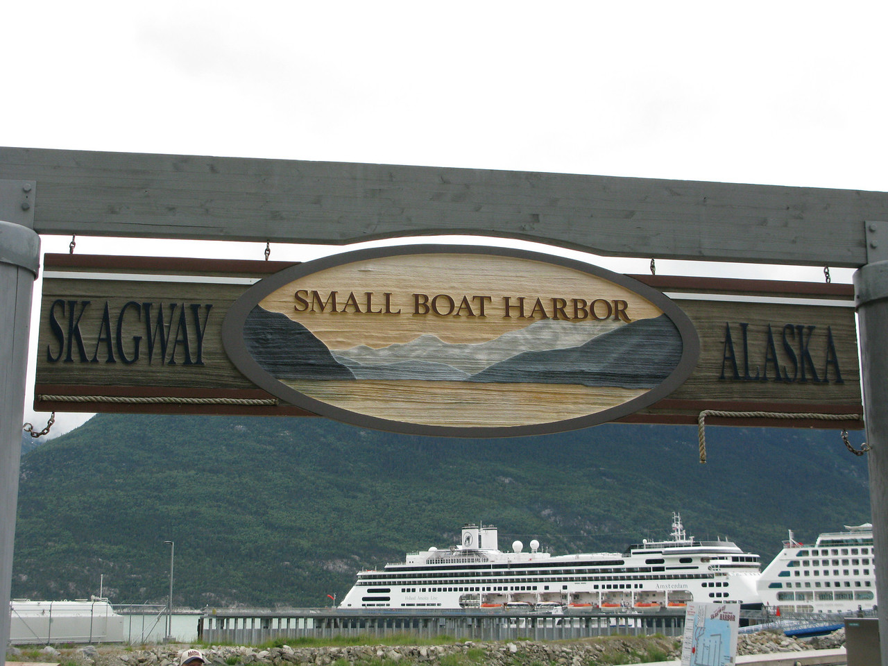 Helen's most anticipated day...   Skagway.