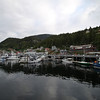 """Salmon Capitol of the world"" - Ketchikan marina from the sea"