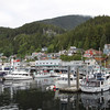 Boats in Ketchikan port