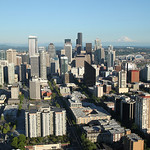 Seattle cityscapes : Views of downtown Seattle