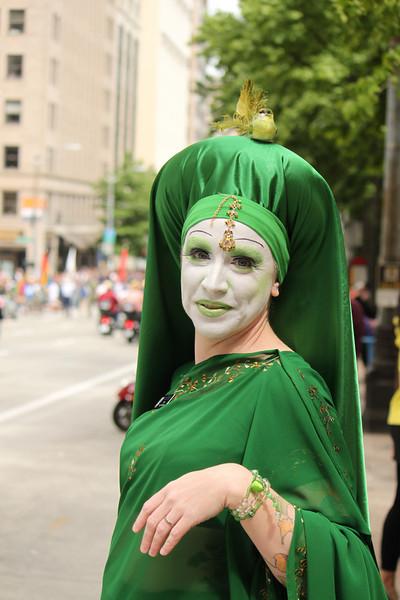 Seattle street parade