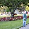 Peter in upper gardens