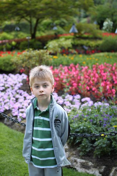 Peter in lower gardens