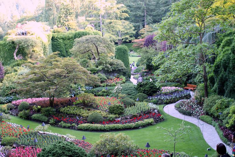 lower gardens - Alaska Botanical Garden
