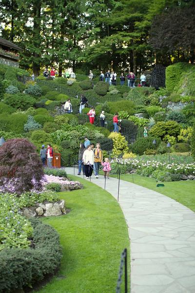 Descend to lower gardens