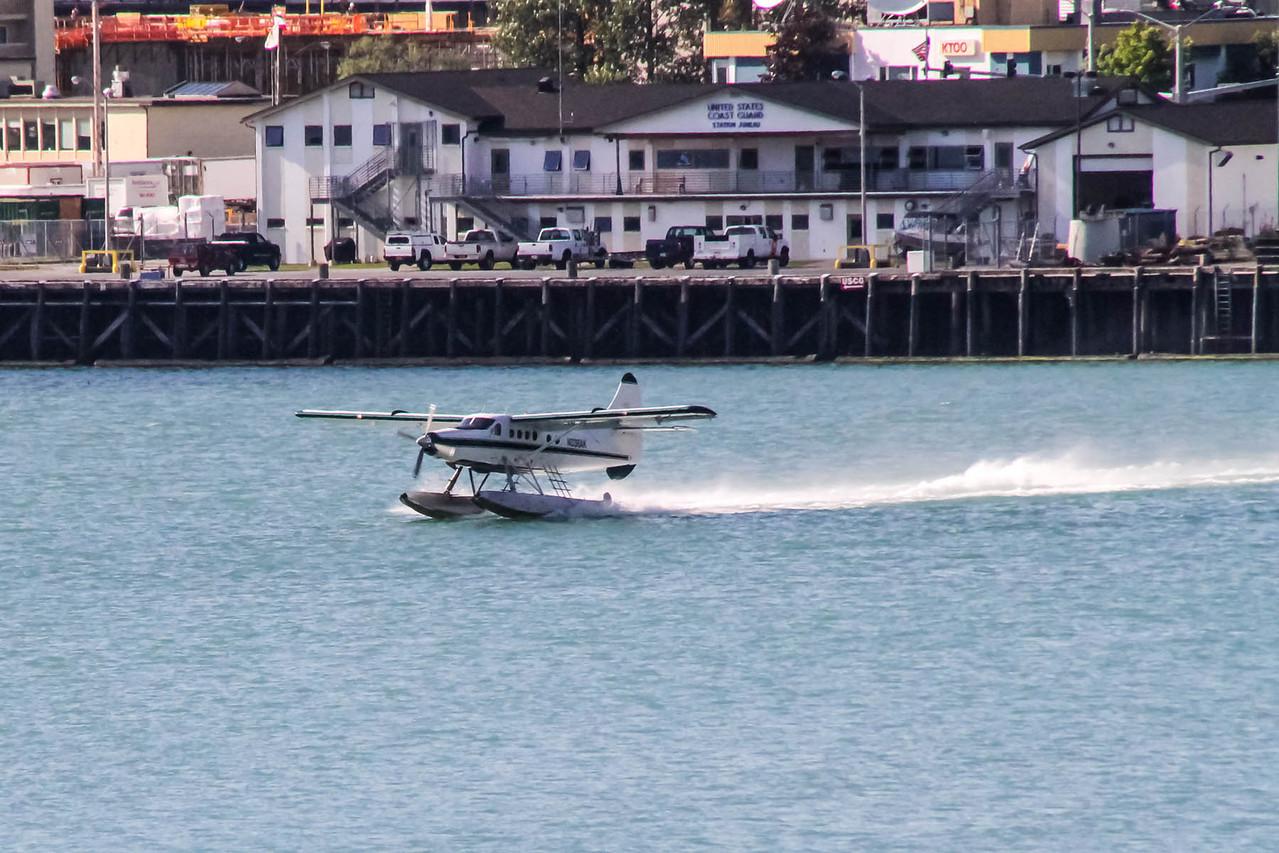 Leaving Port -  Juneau