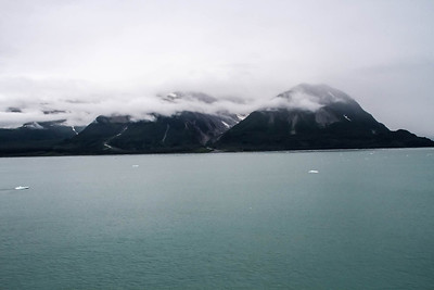 Entering Yakutat Bay