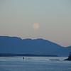 Moonrise, north of Ketchikan AK