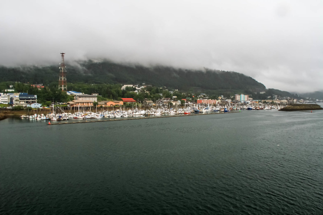 Ships Arrival in Ketchikan