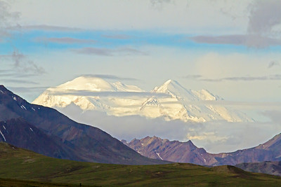 Mount Denali, tallest peak in North America