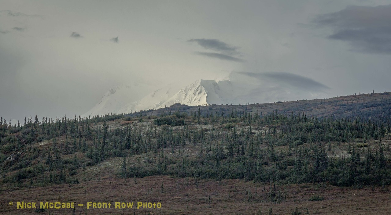 Mt. Denali under cover.