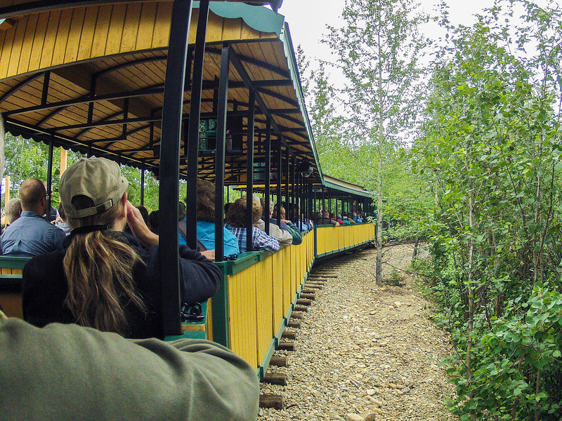 Mining train tour.