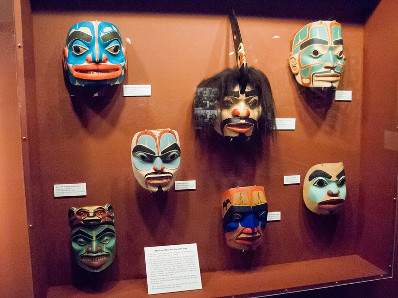Some ceremonial masks.